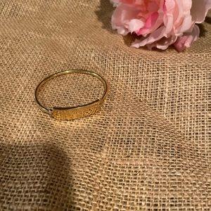 Marc Jacobs gold bracelet